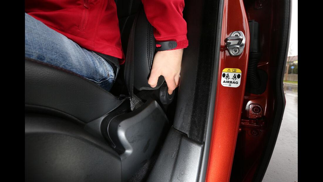 Range Rover Sport SDV6, Sitzverstellung