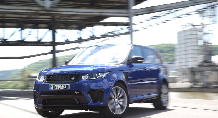 Range Rover Sport SVR, Frontansicht