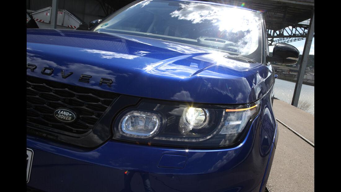 Range Rover Sport SVR, Frontscheinwerfer