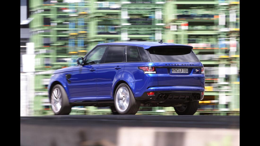 Range Rover Sport SVR, Heckansicht