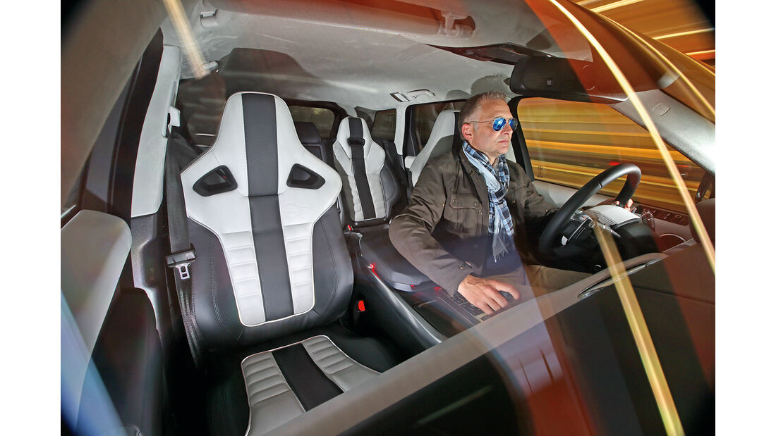 Range Rover Sport SVR, Interieur, Fahrer