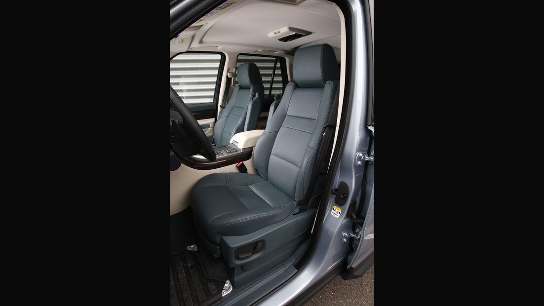 Range Rover Sport, Sitze
