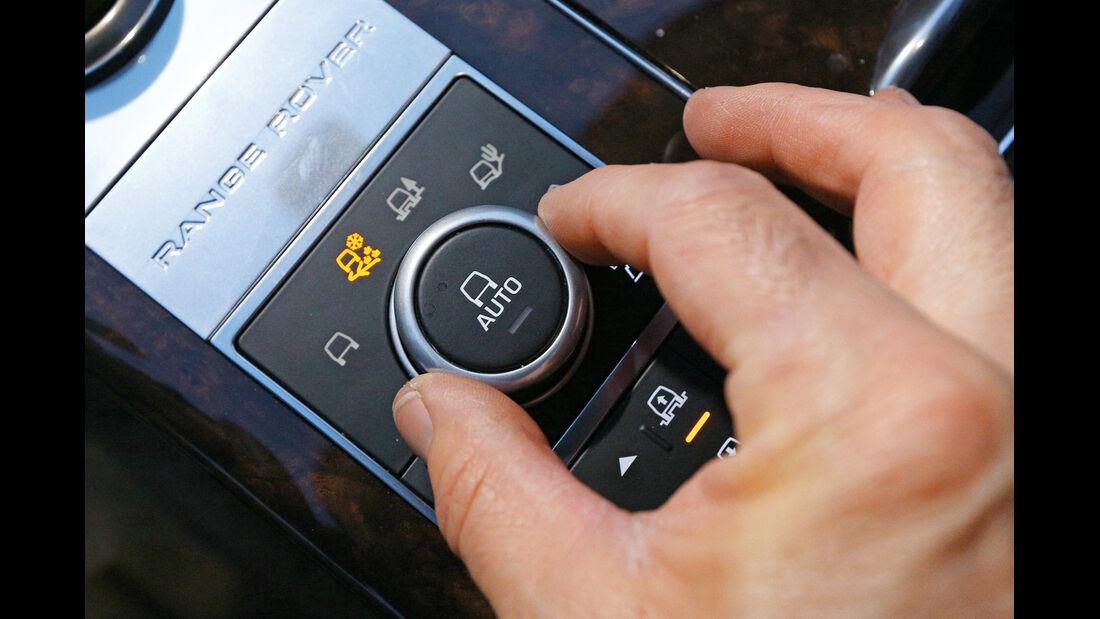 Range Rover TDV8, Bedienelement