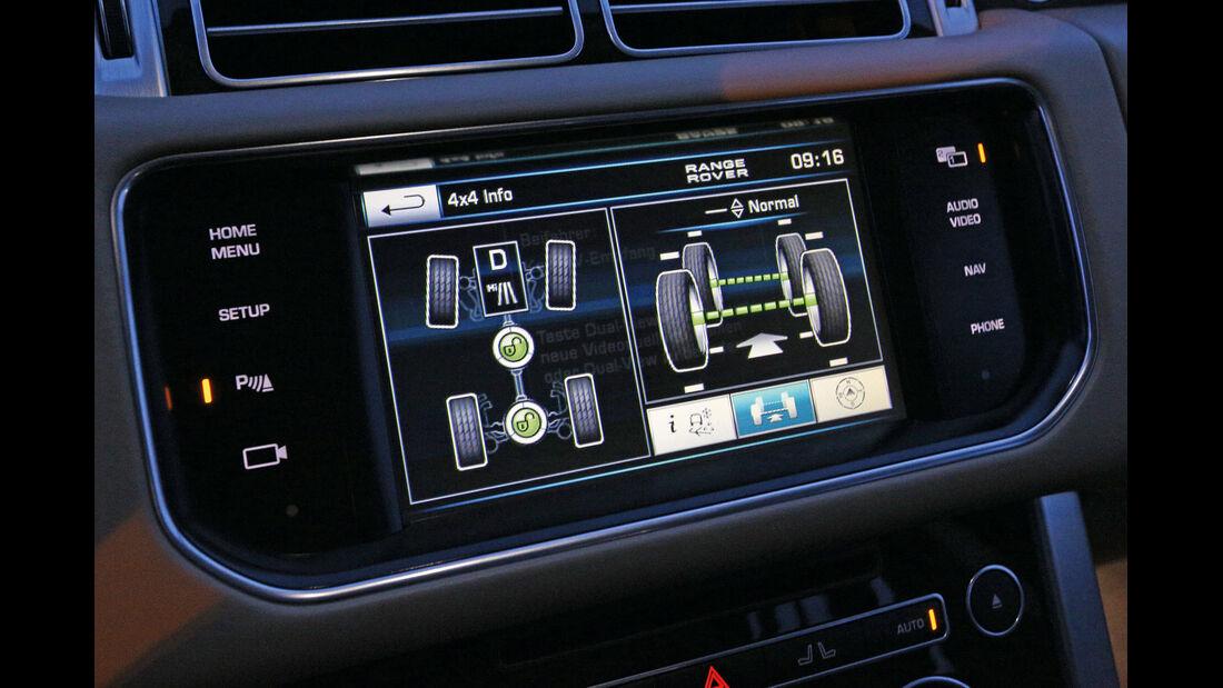 Range Rover TDV8, Display, Allrad