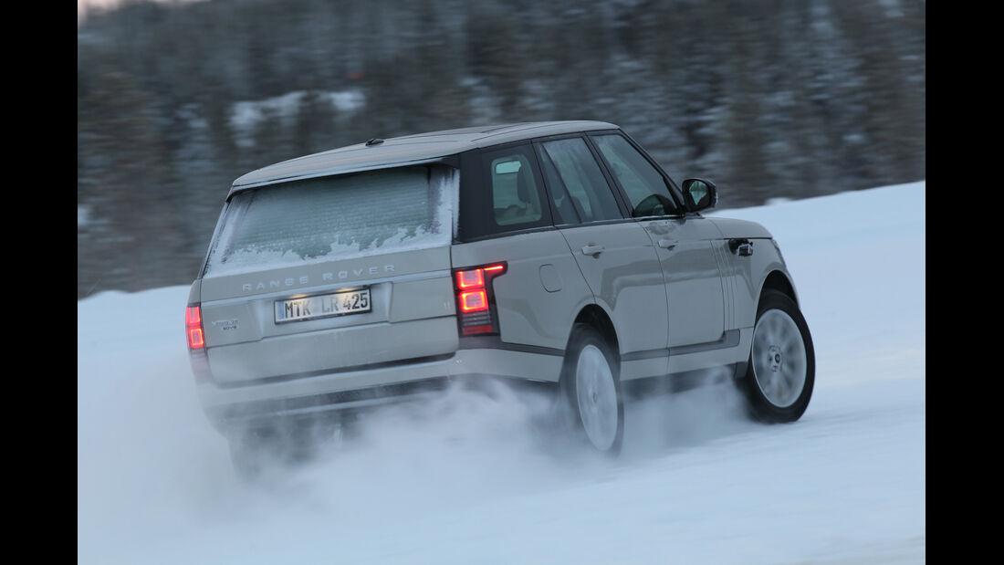 Range Rover TDV8, Heckansicht
