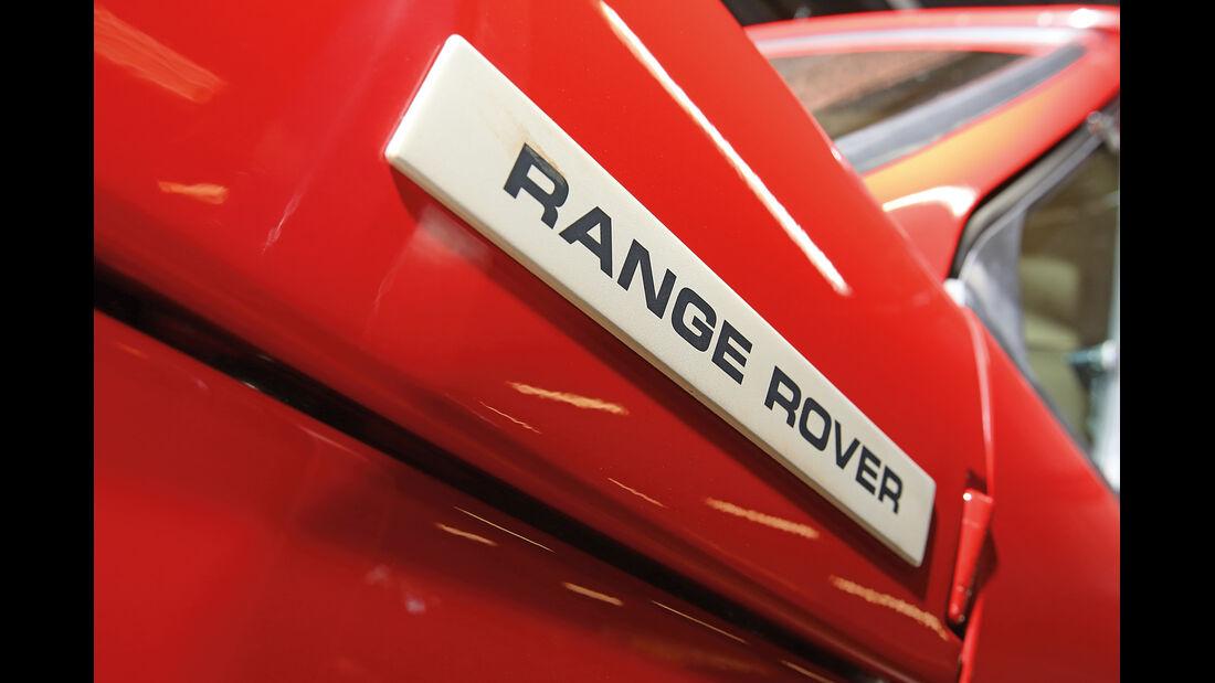 Range Rover, Typenbezeichnung