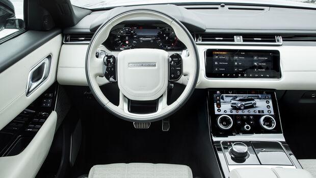 Range Rover Velar, Cockpit Interieur