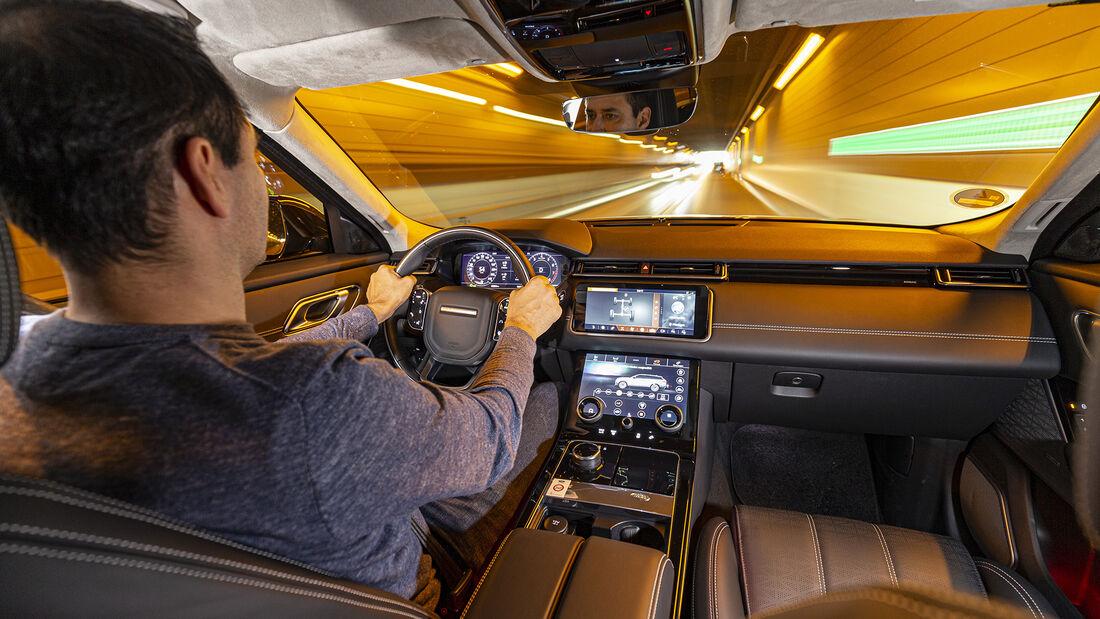 Range Rover Velar P250, Interieur