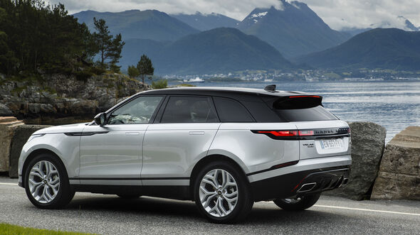 Range Rover Velar, Seite Exterieur