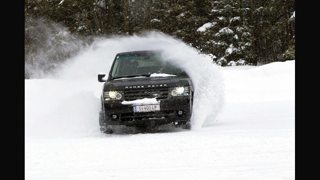 Range Rover Wintertest