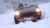 Range Rover und Austin Sprite