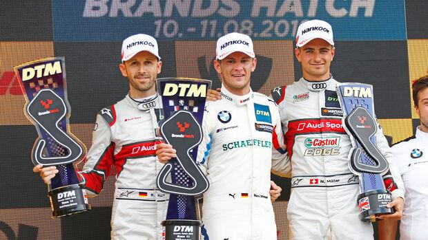 Rast - Wittmann - Müller - DTM - Brands Hatch 2019