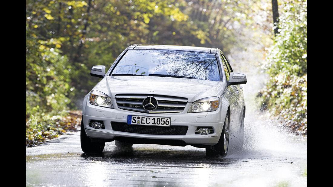Raumlenkerachse, Mercedes C-Klasse