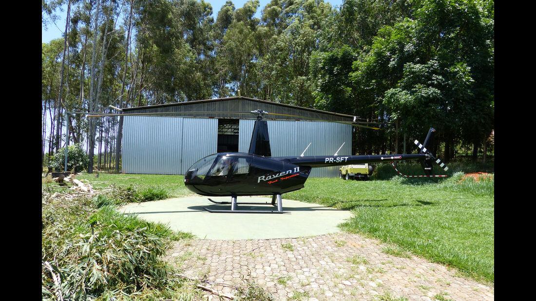Raven 2 Helikopter - Nelson Piquet - Autosammlung