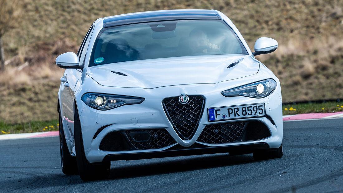 Realverbrauch Alfa Romeo Giulia 2.9 V6 QV