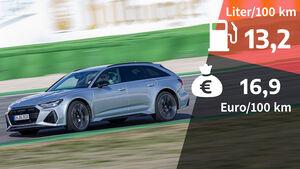 Realverbrauch Audi RS6 Avant
