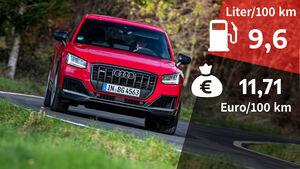 Realverbrauch Audi SQ2