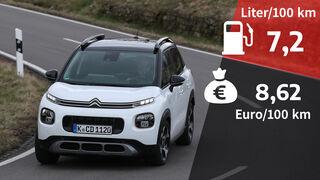 Realverbrauch Citroën C3 Aircross PureTech 110
