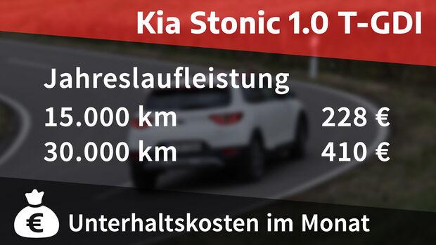 Realverbrauch Kia Stonic 1.0 T-GDI