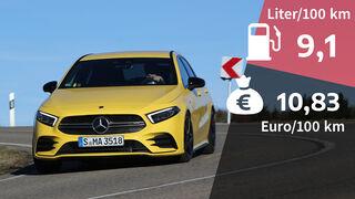 Realverbrauch Kosten Mercedes-AMG A35 4Matic