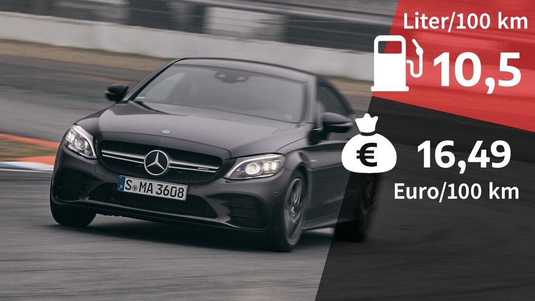 Realverbrauch Mercedes-AMG C 43 Coupé