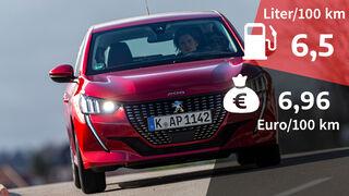 Realverbrauch Peugeot 208