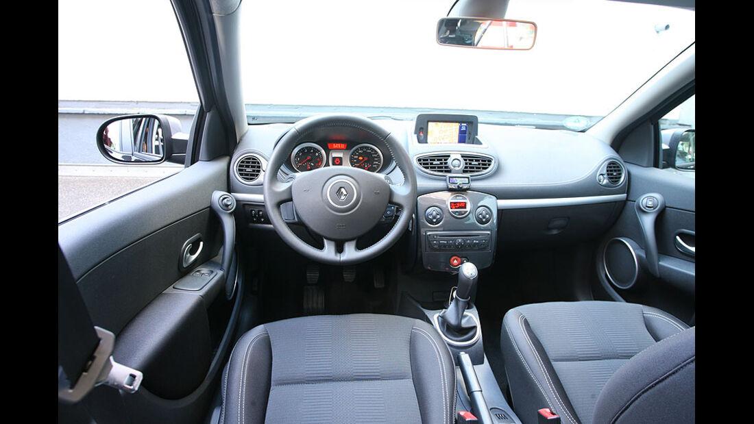 Reanult Clio Grandtour, Cockpit