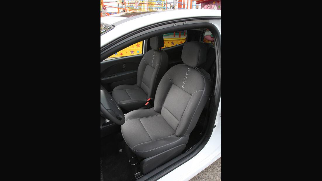 Reault Twingo 1.2 16V Night & Day, Frontsitze, Fahrersitz