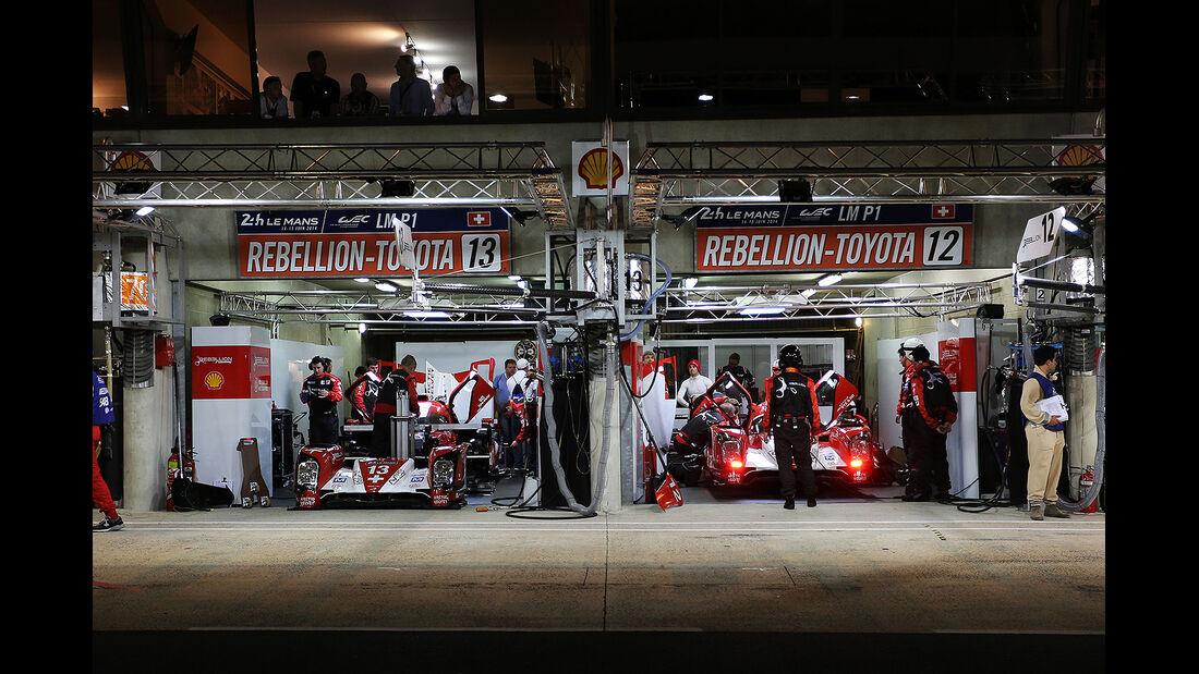 Rebellion, 24h-Rennen, Le Mans 2014, Qualifikation 3