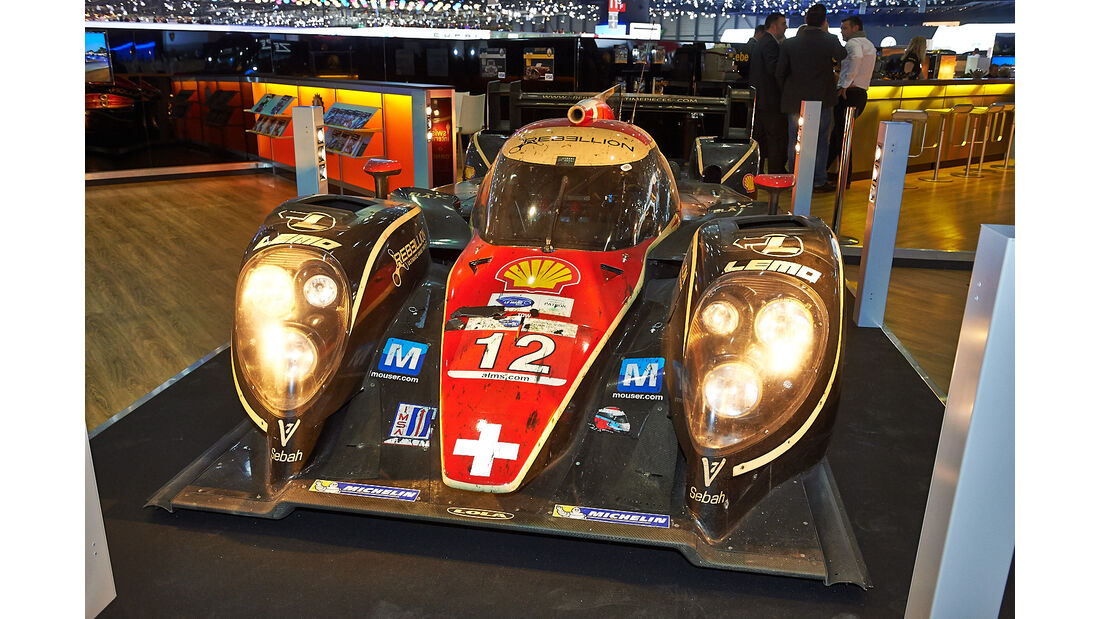 Rebellion LMP1 - Autosalon Genf 2014