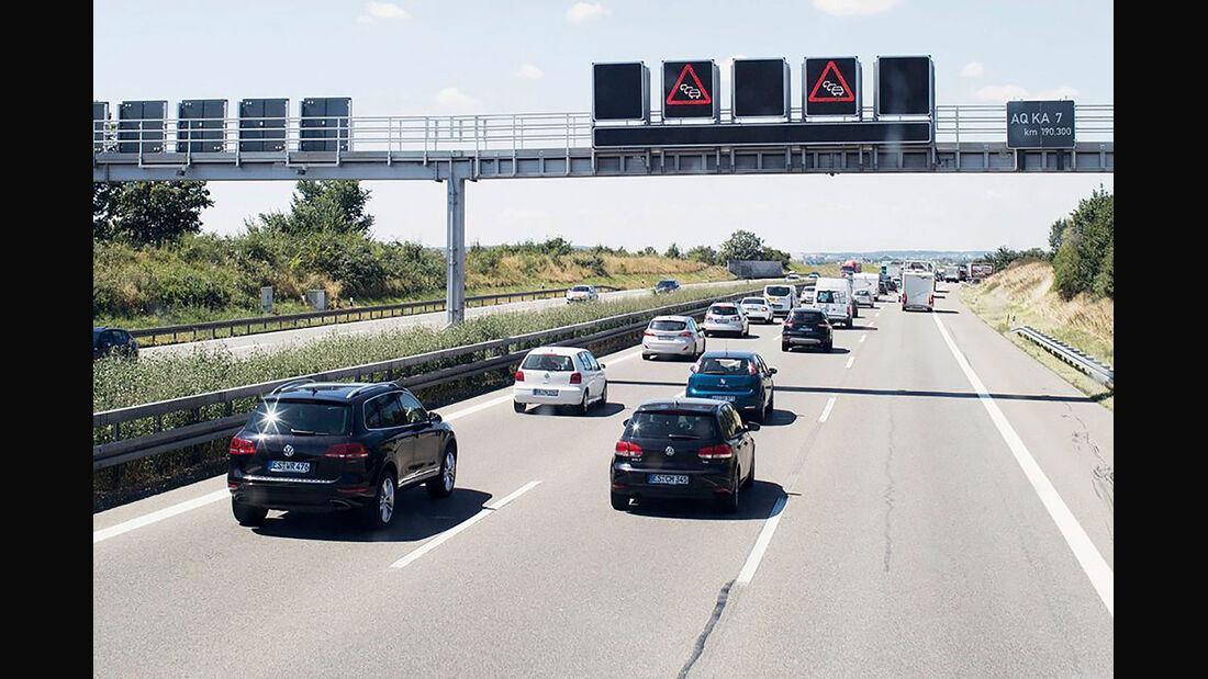 Rechtsfahrgebot Autobahn