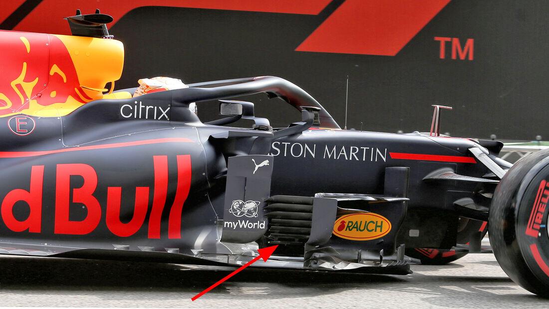 Red Bull - 2020 - Formel 1 - Technik-Trends