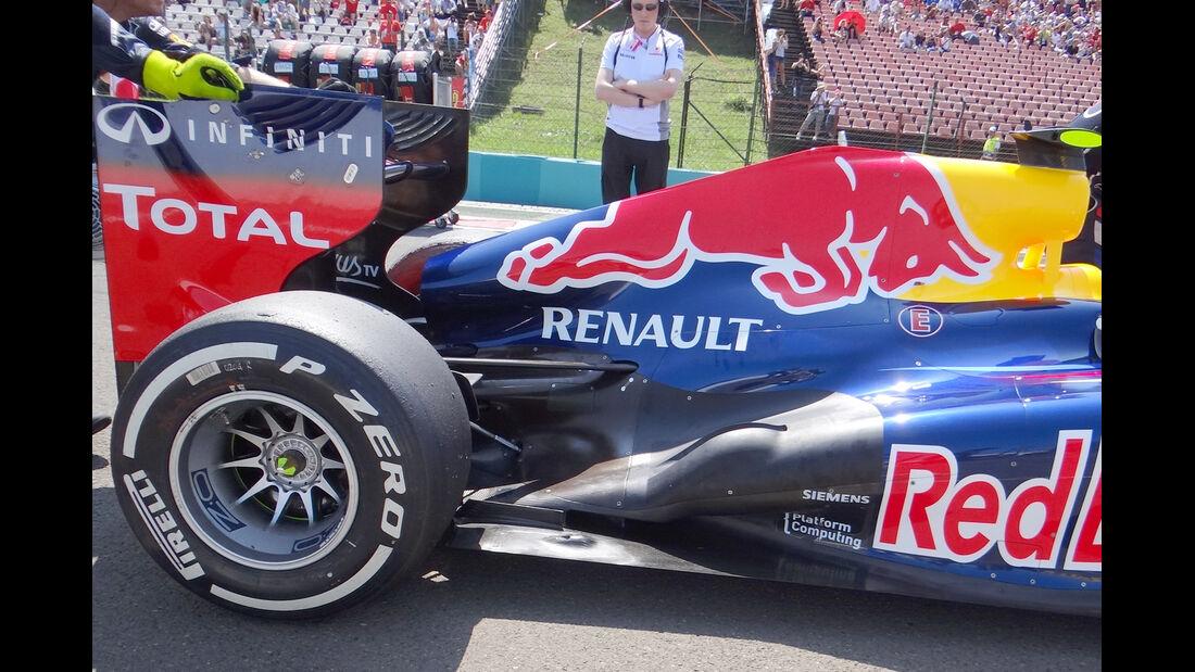 Red Bull Auspuff GP Ungarn 2012