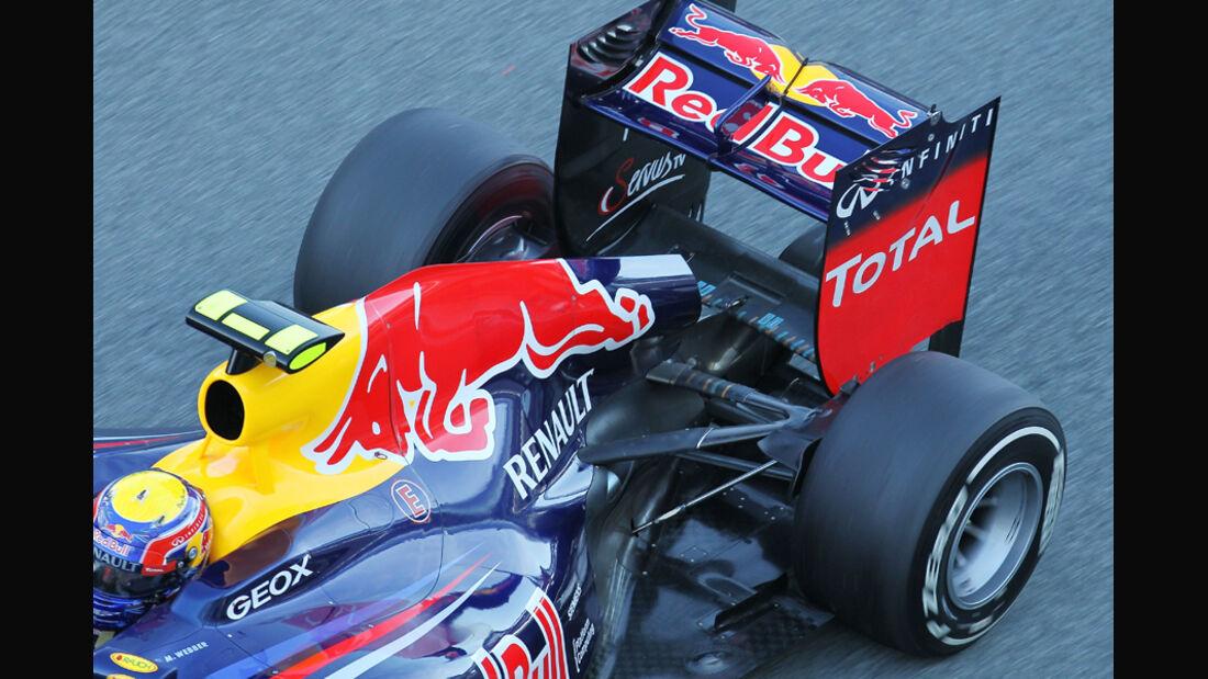 Red Bull Auspuff Jerez Test 2012