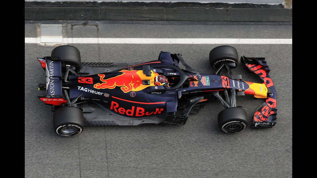 Red Bull - Barcelona F1-Test 2018