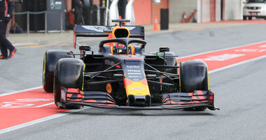 Red Bull - Barcelona-Test - F1 - 2019