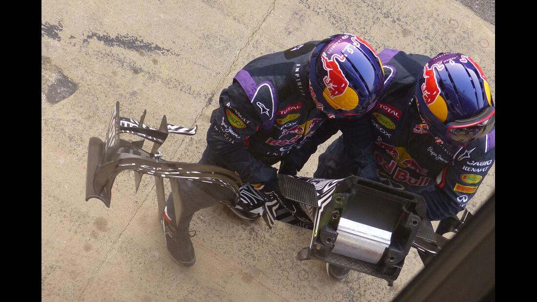 Red Bull - Barcelona-Test - Technik - Formel 1 2015