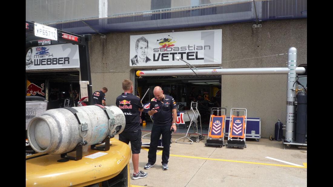 Red Bull-Box GP Kanada 2011