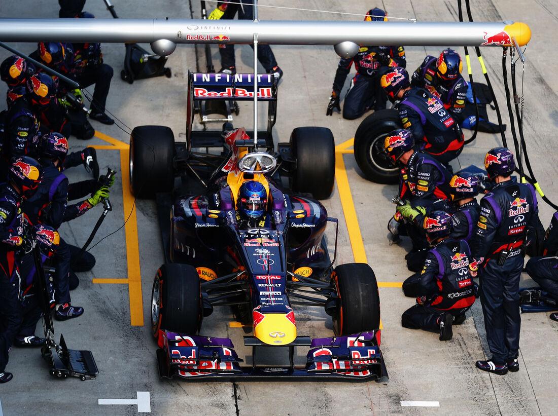Schnellster Boxenstopp Formel 1