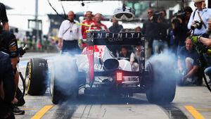 Red Bull - Boxenstopp - Formel 1 2013