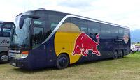Red Bull-Bus - Formel 1 - GP Österreich - Spielberg - 21. Juni 2014