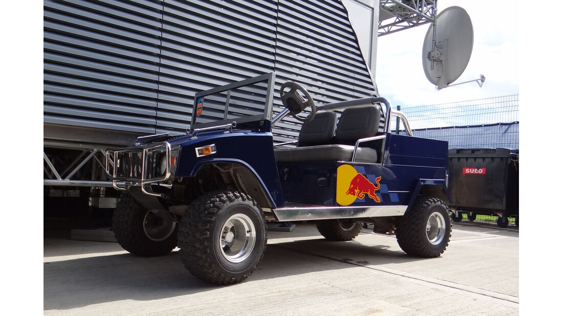 Red Bull-Cart - Formel 1 - GP England - Silverstone - 5. Juli 2012