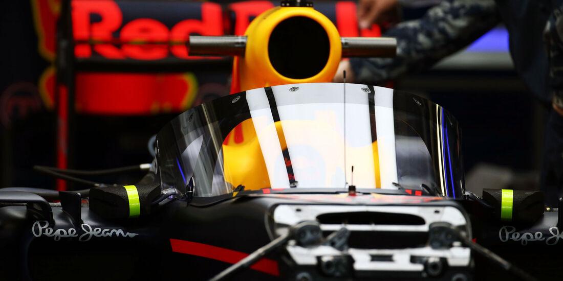 Red Bull - Cockpitschutz - F1 - GP Russland 2016