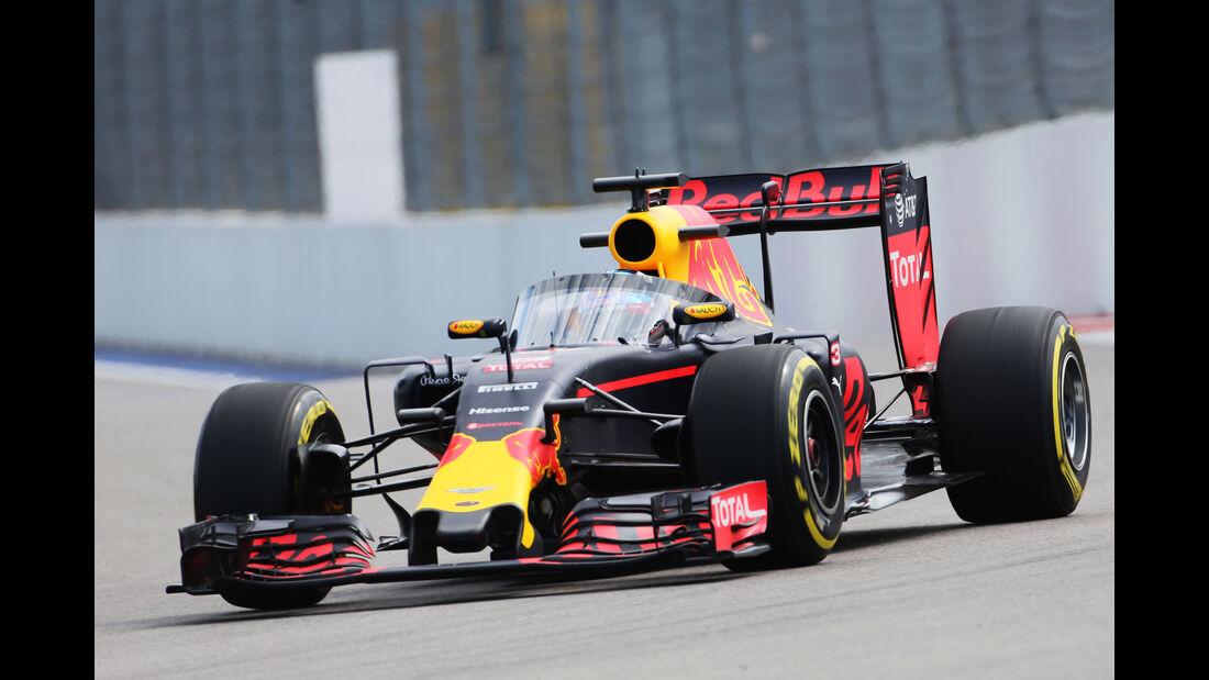 Red Bull - Cockpitschutz - GP Russland - Freitag - 29. April 2016