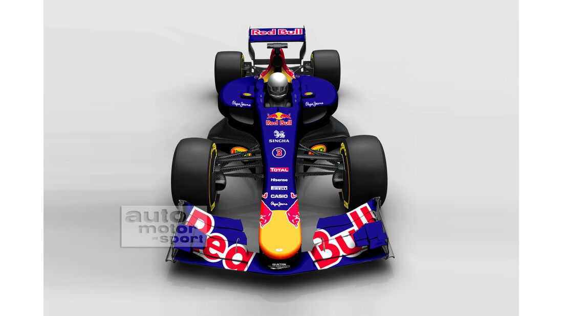 Red Bull Concept - F1 Auto 2017