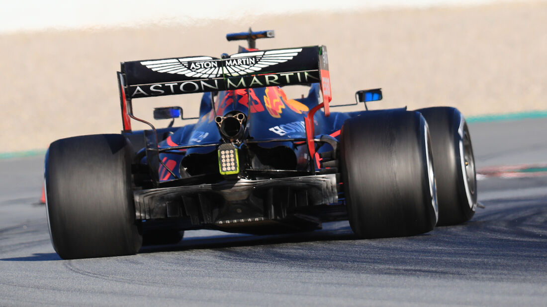 Red Bull - Diffusor - F1-Test - Barcelona - 2020