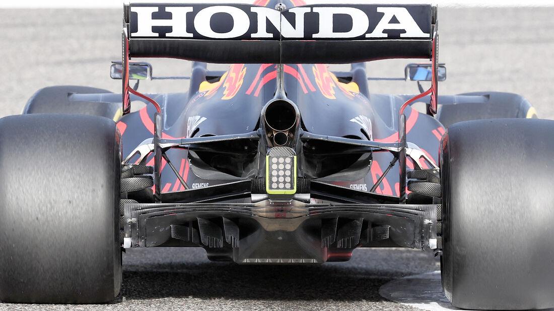 Red Bull - Diffusor - Formel-1-Test - Bahrain - 2021