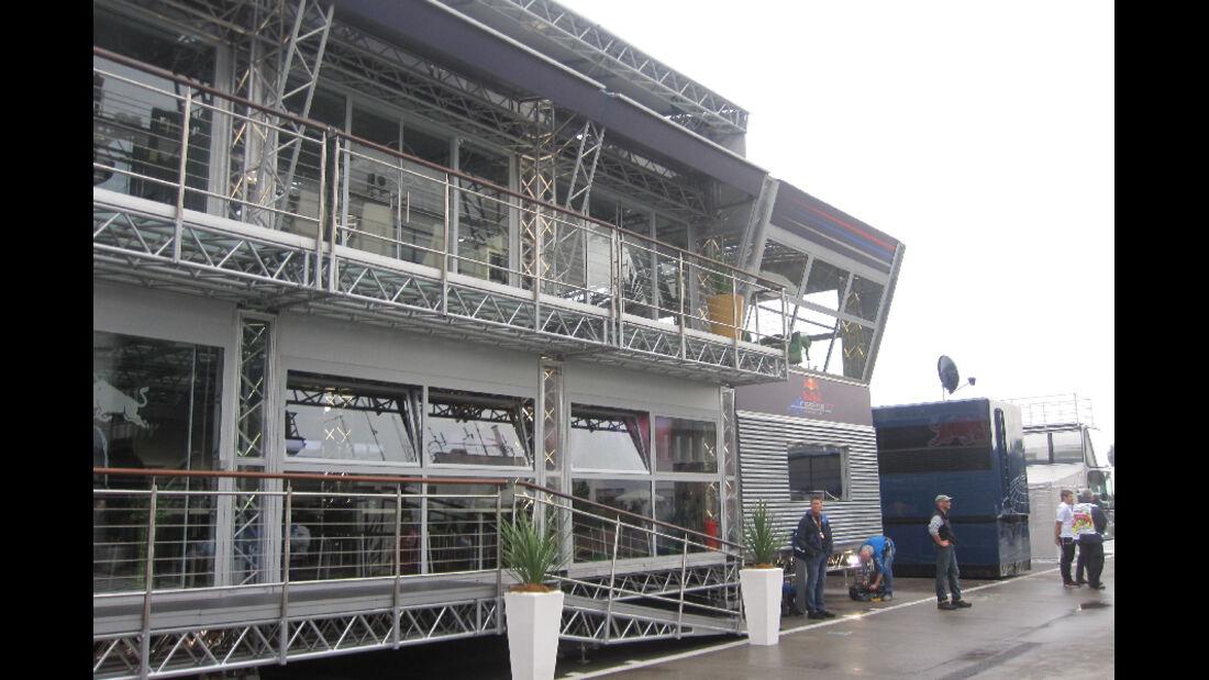 Red Bull Energy Station - GP Ungarn - Formel 1 - 28.7.2011