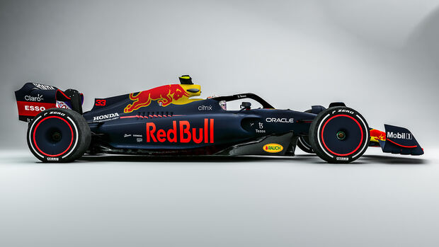 Red Bull - F1-Auto 2022 - Team-Lackierung