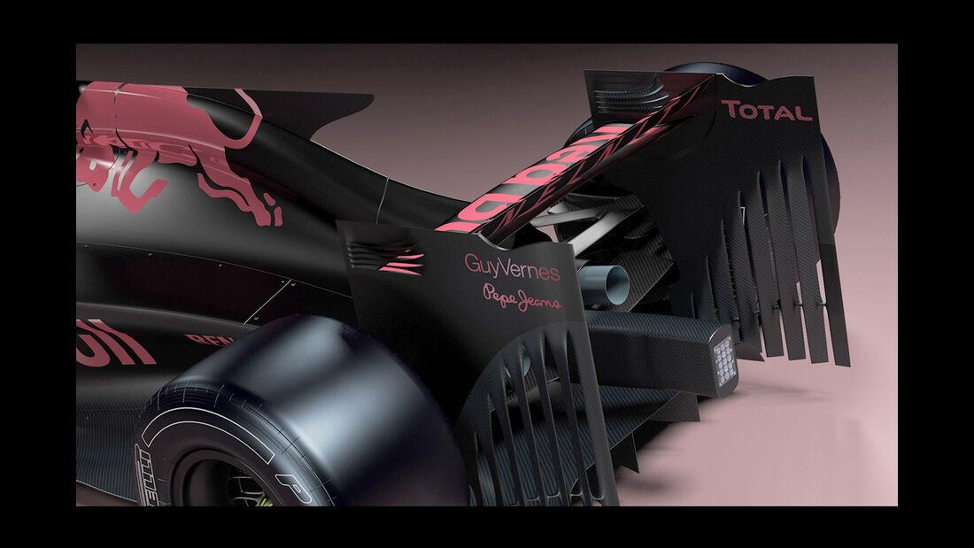 Red Bull F1 Concept 2017 - Andries van Overbeeke